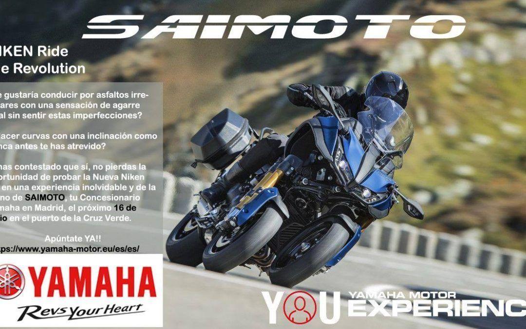 Prueba NIKEN con Saimoto Yamaha