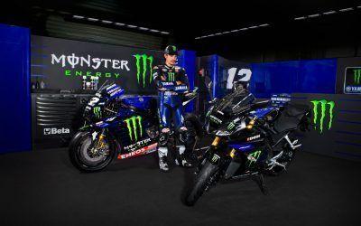 Alcanza un nuevo nivel con la YZF-R125 Monster Energy Yamaha MotoGP Edition