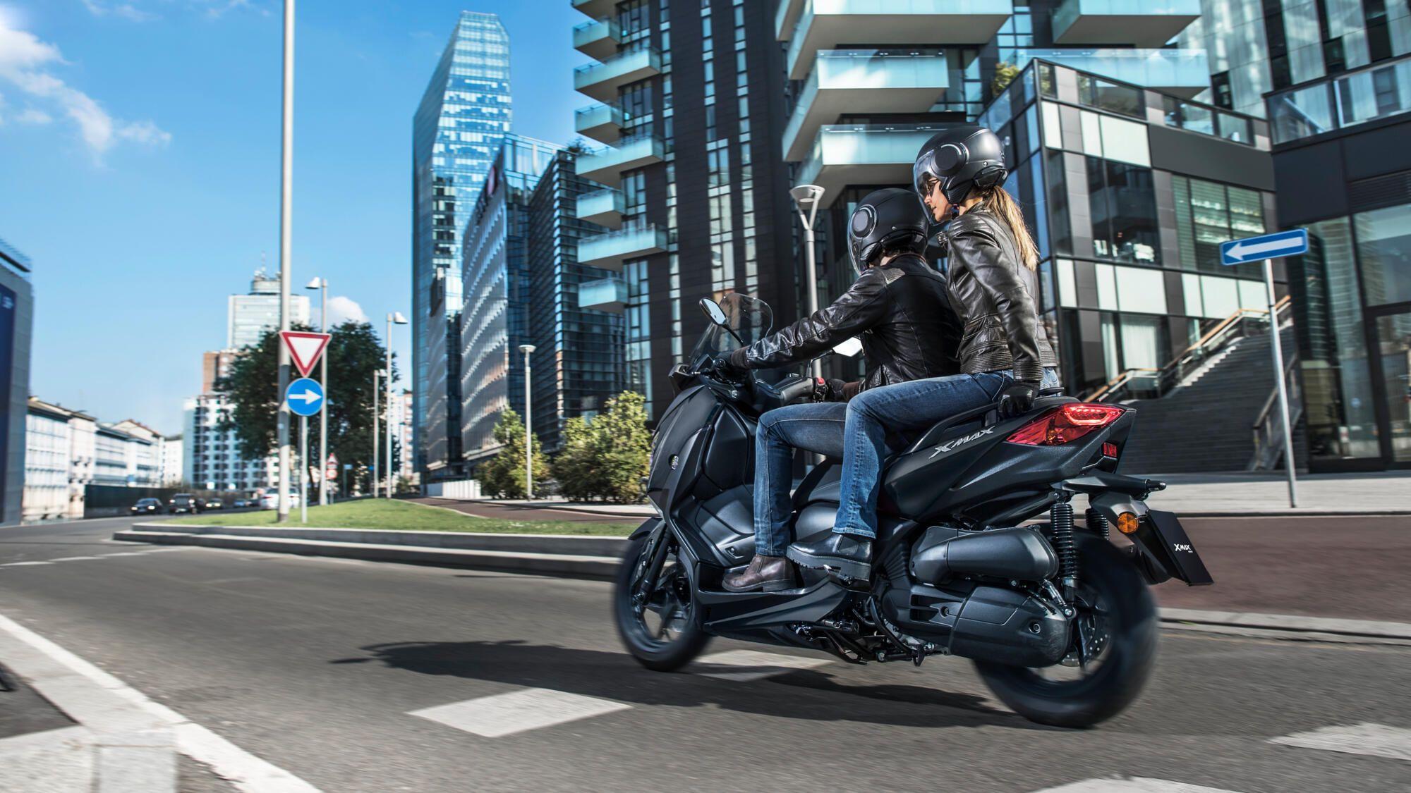 Experiencia MAX, versatilidad 125 cc