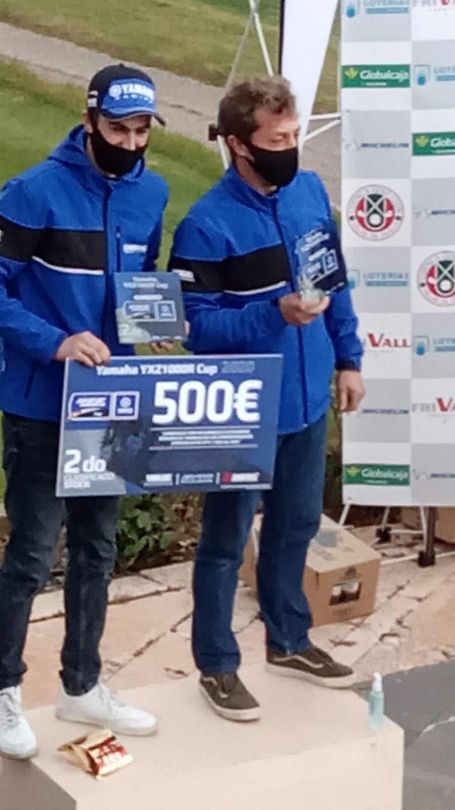 Copa Yamaha 2 clasificado
